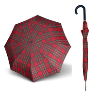 Doppler Carbonsteel Umbrella Woven Check Zwolf